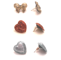 Handmade miniature shells, hearts and bows by MiniSweetx