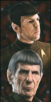 Star Trek - Spock by caldwellart