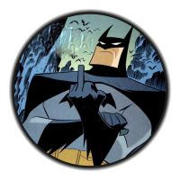 Middle finger Batman by Babs9