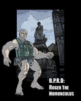 B.P.R.D: Roger the Homunculus by jdcunard