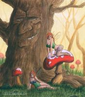The Tree and the Kinky Faeries by CDrice
