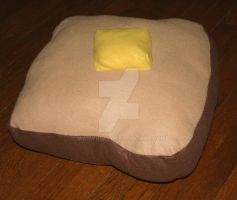 Toast Pillow by madwhimsy