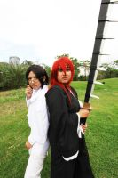 Bleach: Quincy and Shinigami by HRecycleBin