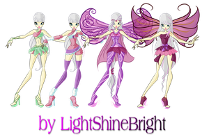 WINX:Dree's Transformations by lightshinebright