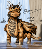 Draco-color by Dragoon-girl