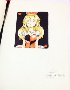 Queen of Hearts by Egg-Chan016