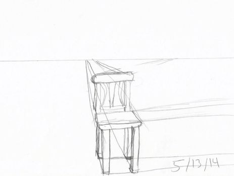 Day 13 : part 2  : Chair in perspective by DecoraAi