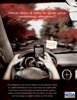 Texting While Driving Awareness by Whatsome