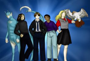 The Animorphs by Hanyou-no-miko