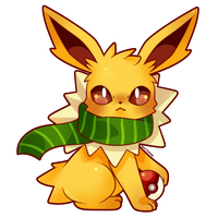 COMMISSION: Chibi Jolteon by SeviYummy