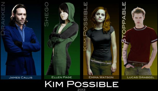 Kim Possible Cast by everyone92