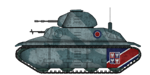 Fortnum F1 Light Tank [update] by AdmiralSerenity