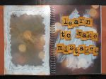 Art Journal - learn to make mistakes by dreamycards