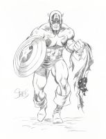 Captain America by markman777