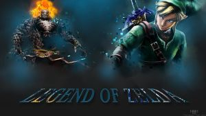 Legend of Zelda: Skyward Sword - Wallpaper by MarvelousMark