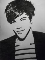 Louis Tomlinson by merelloves1D