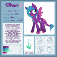 Tiffany the zenyu ref sheet by Keep-Yourself-Alive