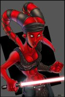 Aayla Secura Sith Version by richmbailey