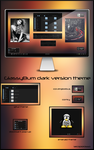 GlassyBum dark version theme by iacoporosso
