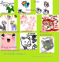 Xat chat doodle collage 2 by Perry--Agent