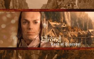 Elrond of Rivendell Wallpaper by drkay85