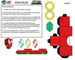 Knuckles Cubee 1 by Raza5