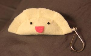 Dumpling Keychains.. by JanellesPlushies