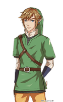 Link blinking eyes by YuHita