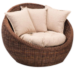Basket Chair png by mysticmorning