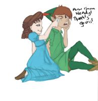 Peter Pan: Touch by bb-draws-things