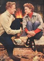 Van Johnson and Esther by slr1238