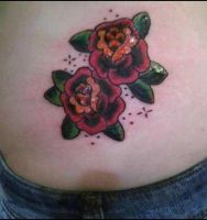 Mary's Roses by VoodooKatTattooer