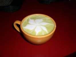 Green Tea Latte by lolicaor805