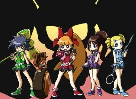 Yuji's PowerPuff Girls Z by Lance-the-One