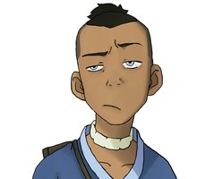 The Legend Of Aang: Sokka portrait by DeJakob