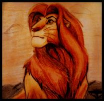 The lion king-Simba by gilly15
