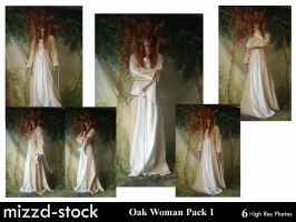 Oak Woman Pack 1 by mizzd-stock