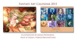My Art Calendar  2015 by Kuoma
