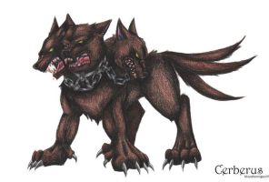 Cerberus by bluesharingan07