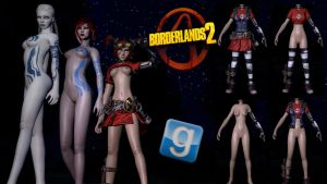 SYSK's Boderlands Ladies Pack Release For GMod by Rastifan
