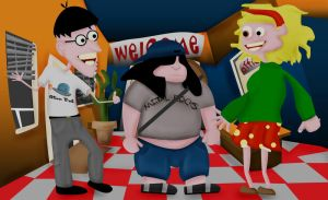 Day of the Tentacle by rev-Jesse-C