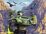 Transformers: Hound at the Grand Canyon by WolfWhiskers