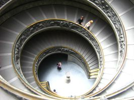 Spiral at the Vatican by seanpt