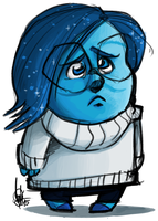 Sadness by TheArtrix
