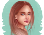 February Portrait by Orchid-of-Hope