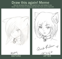 MEME: Before and After by z0mdee
