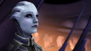 Liara by ZoeDemar