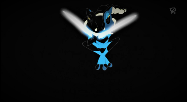 Frogadier using Aerial Ace, ninja style by Pokemonsketchartist