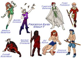 Protector Elves Group 7 by lethe-gray