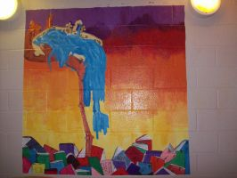 School Mural by HybridMoments77